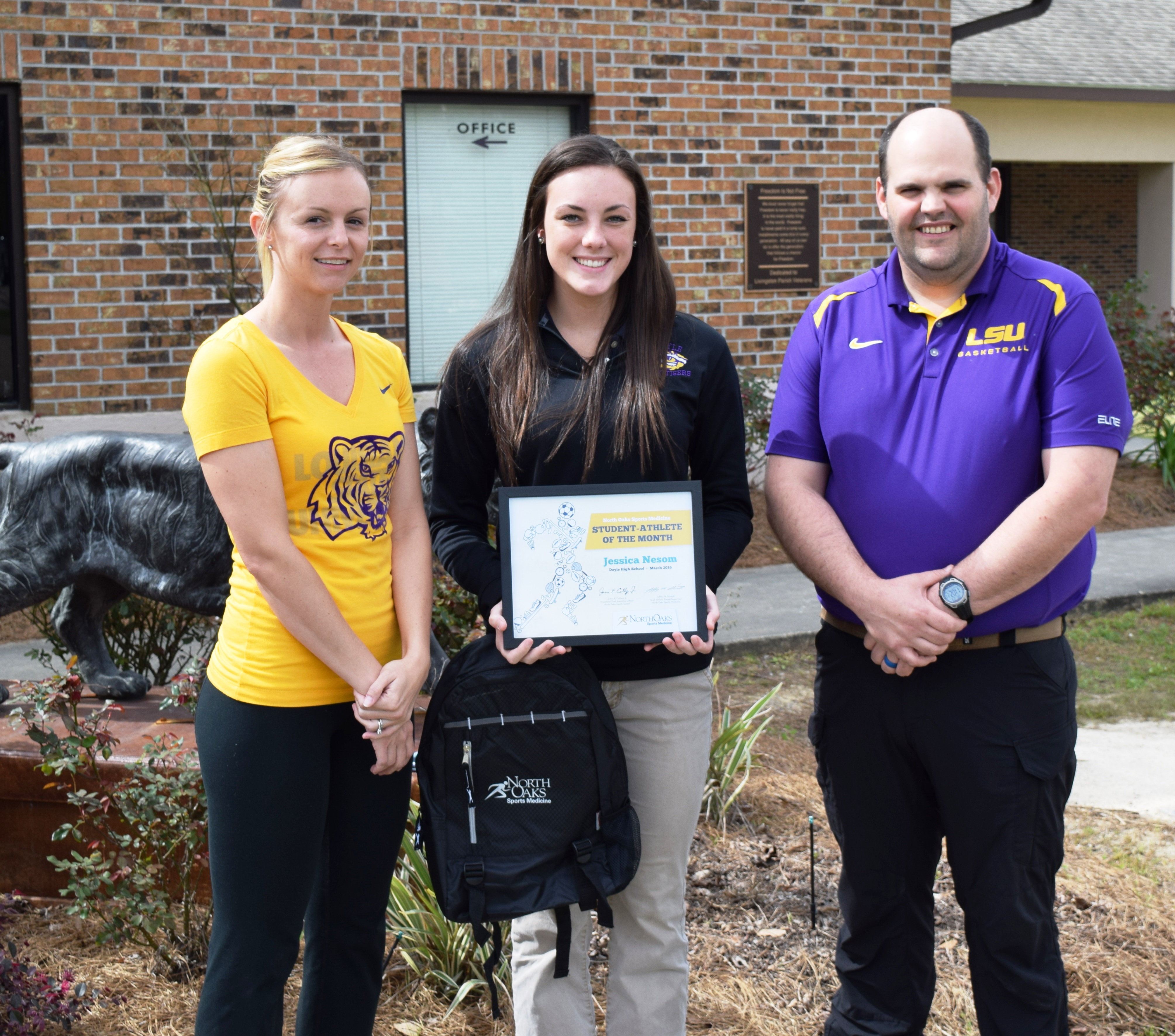 North Oaks Sports Medicine Student-Athletes of the Month for March ...